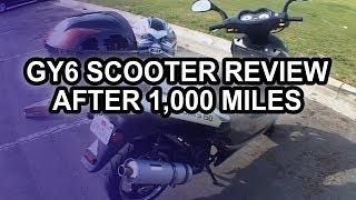 1. Chinese Scooter After 1,000 Miles (150cc Tao-Tao Lancer GY6)
