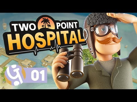 🏝️ The Fountain Of Youth?! | Let's Play Two Point Hospital Pebberley Island Ep. 01