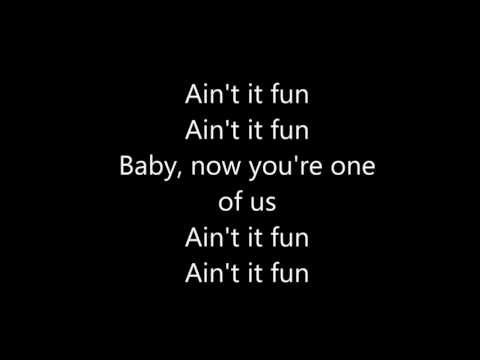 Ain't It Fun    Paramore LYRICS