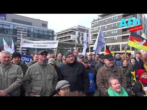 Demonstration der Jungen Alternative Dresden