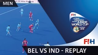 Video Belgium v India - Men's Hockey Junior World Cup Lucknow 2016 MP3, 3GP, MP4, WEBM, AVI, FLV Maret 2019