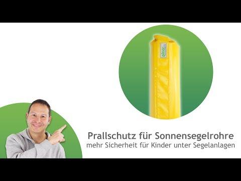 Prallschutz für Rohre in Kindergärten/ Spielplätzen - in verschiedenen Größen