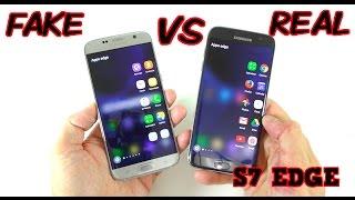 Video FAKE vs REAL Samsung Galaxy S7 Edge - Buyers BEWARE! 1:1 Clone MP3, 3GP, MP4, WEBM, AVI, FLV September 2017