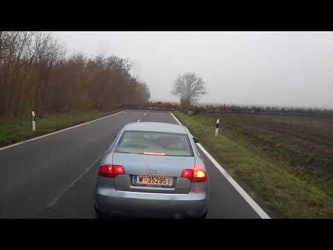 Lecisz sobą swoja Audi, a tu nagle taka akcja! Końca nie było widać :D