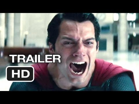 Man of Steel TRAILER 4 (2013) - Russell Crowe, Henry Cavill Movie HD Video