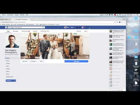 Facebook Advertising for Wedding Photographers (видео)