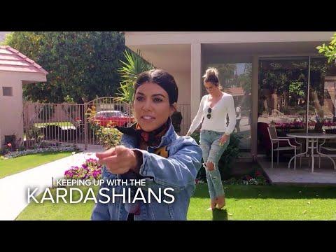 KUWTK   Kardashian Sisters Visit Their Grandparents