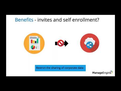 ManageEngine MDM Free Training: Device Enrollment and Provisioning