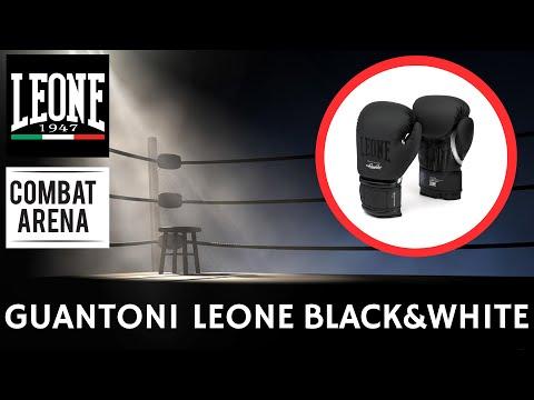 Leone 1947 Guantoni Black&White GN059 per Boxe, Kick Boxing, Muay Thai - Recensione - CombatArena.it