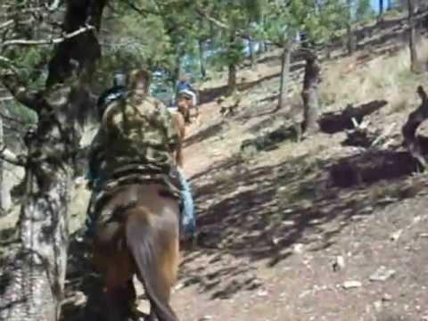 Horseback Riding at Kohl's Ranch in Payson, AZ