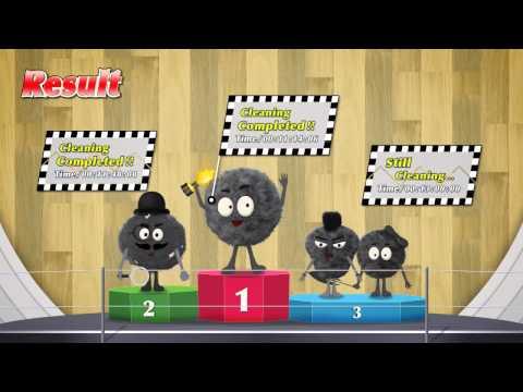Робот пылесос LG HOM-BOT Square - битва за чистоту (видео)