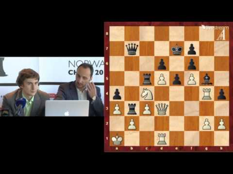 chess - Available in Full 1080p HD GM Sergey Karjakin and GM Veselin Topalov press conference Norway Chess Super Tournament 2013 Round 9 May 18 2013 Final Standings ...