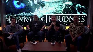 Cenk, Ben, John and Matt review episode 2 of Game of Thrones season 7. Daenerys receives an unexpected visitor. Jon faces a revolt. Tyrion plans the ...