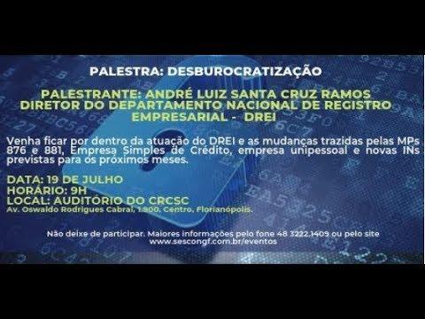 Palestra: Desburocratização