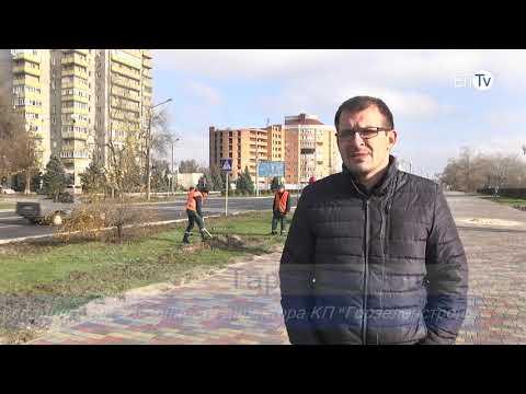 В Энергодаре КП «Горзеленстрой» продолжает ремонт детских площадок, лавочек и рекультивацию газонов