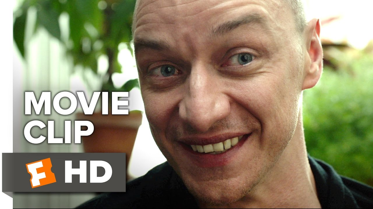 """""""The beast is real."""" James McAvoy has Multiple Personalities in M. Night Shyamalan's Eerie Thriller 'Split' [Clip]"""