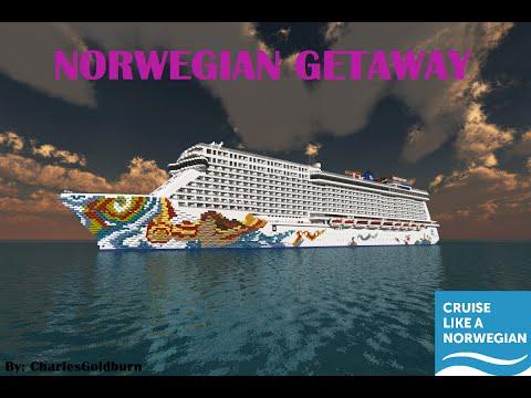 Norwegian Getaway 11 Scale Cruise Ship [+Download] [Full ...