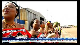 President Jacob Zuma is currently in Swaziland one of the Southern African Customs Union countries he's holding consultations with. Earlier the President vis...