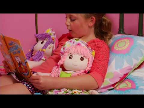 "Set of Two Lollipop Kids 20"" Soft Bodied Rag Dolls on QVC"