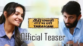 Taramani Official Teaser