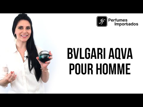 Perfume Bvlgari Aqva Pour Homme Masculino - Eau de Toilette