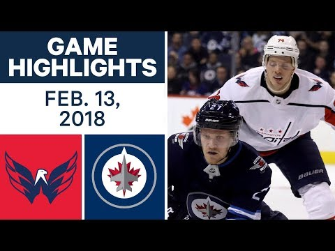 Video: NHL Game Highlights | Capitals vs. Jets - Feb. 13, 2018