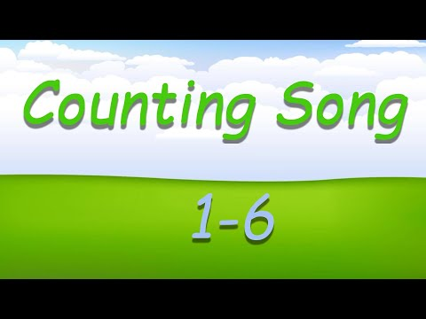 A Numbers Song for Kindergarteners - Counting Song (1-6)