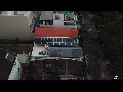 Khải Minh Solar thi công hệ 8kw điện năng lượng mặt trời - quận 7