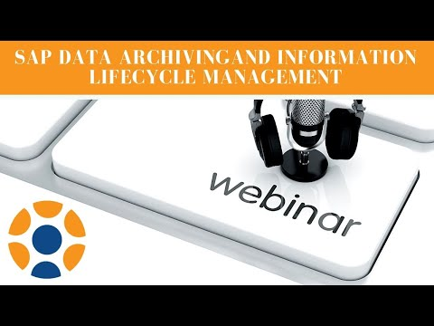 Data Archiving and Information Lifecycle