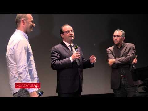 Visite de Hollande à la soirée du Bondy Blog (Ajout vidéo)