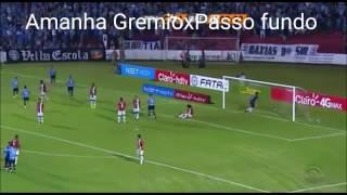 Amanha  GrêmioxPasso fundo