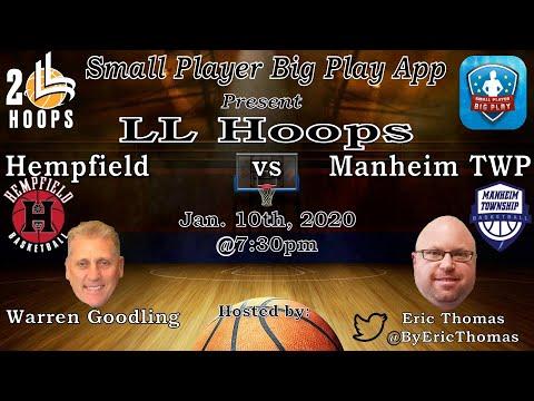 Hempfield vs Manhiem TWP (Boys basketball)