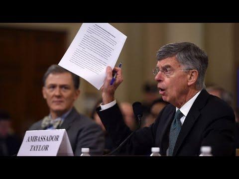 USA: Start der öffentlichen Anhörungen im Impeachment ...