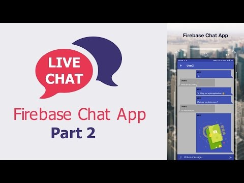 Android Tutorial – Chat Application with Firebase – Part 2