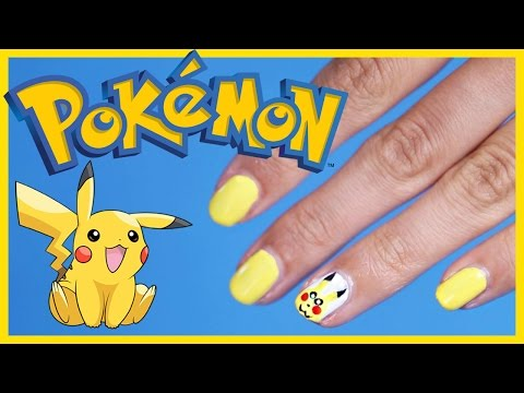 pokemon go mania - nail art pikachu!