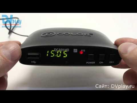 D-Color 801HD - обзор DVB-T2 ресивера