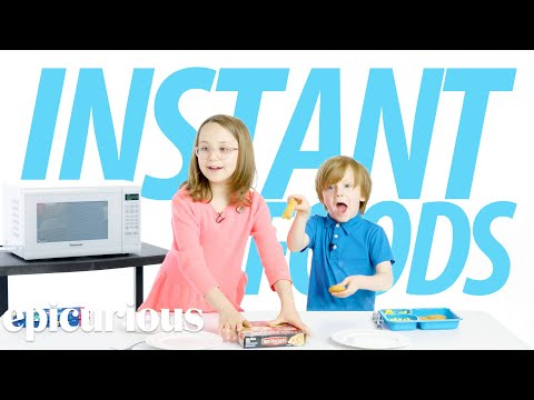 Kids Try 100 Years of Instant Foods