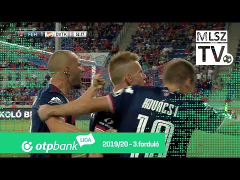 3. forduló: Fehérvár - DVTK 5-1 (1-1)