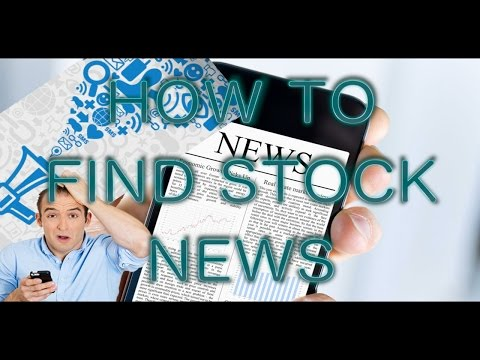 Day Trading/Options Trading Tutorial - How to find stock market news - TweetDeck Setup