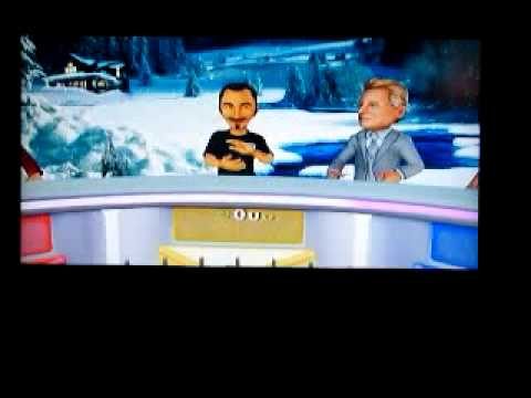 Part 1 of Christmas Week on Wheel Of Fortune on PlayStation 3