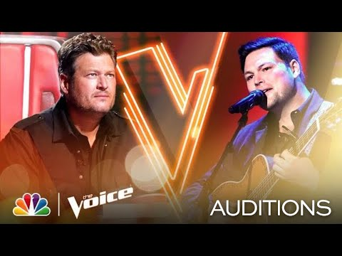 "Ian Flanigan's Unique Voice Shines on Zac Brown Band's ""Colder Weather"" - The Voice Blind Auditions"