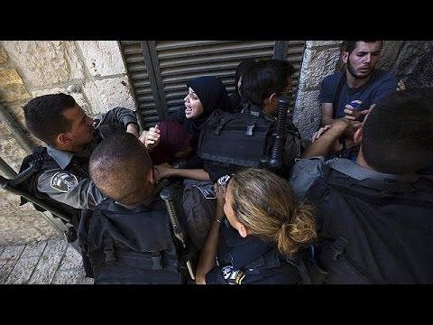 Έφοδος Ισραηλινών αστυνομικών στο τέμενος Αλ – Ακσά στην Ιερουσαλήμ