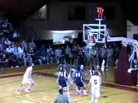 Guilford Men's Basketball vs. NC Wesleyan 12/1/10 Highlights