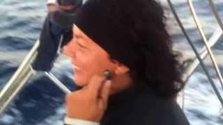 Traversata Ponza - Ischia settembre 2013 Skipper Daniela Bianchi