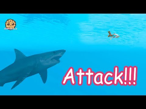 Shark  + Water Mermaids - Roblox Cookie Swirl C Game Video (видео)