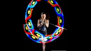 Mystik and A1 series- Pixel graphic poi, Staff, Clubs from A Technologies