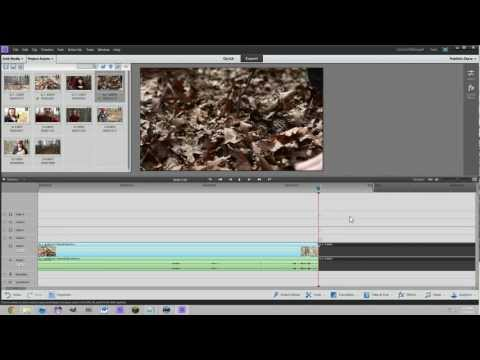 Adobe Premiere Elements 11 Tutorial for Beginners - Basic Editing