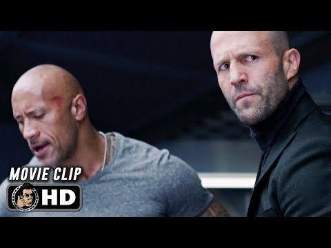 HOBBS & SHAW Clip - Now Or Never (2019)