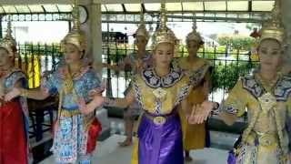 バンコク市内観光エラワンプーム