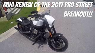 8. 2017 ProStreet Breakout mini review (CVO Breakout) (1080p)
